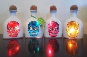 sugar skull lamps
