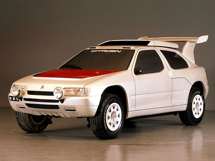 Citroën ZX Rally Raid Prototype. 1990.