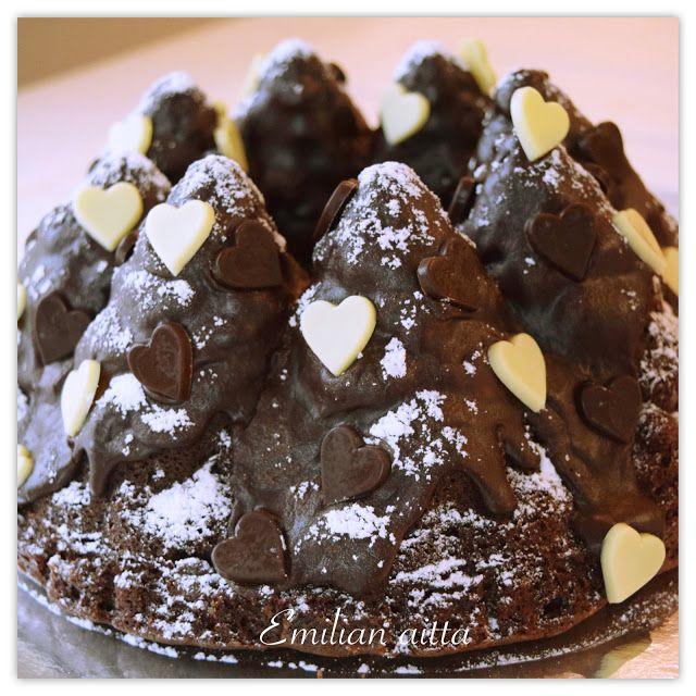 Emilian aitta: Jouluinen suklaakakku!
