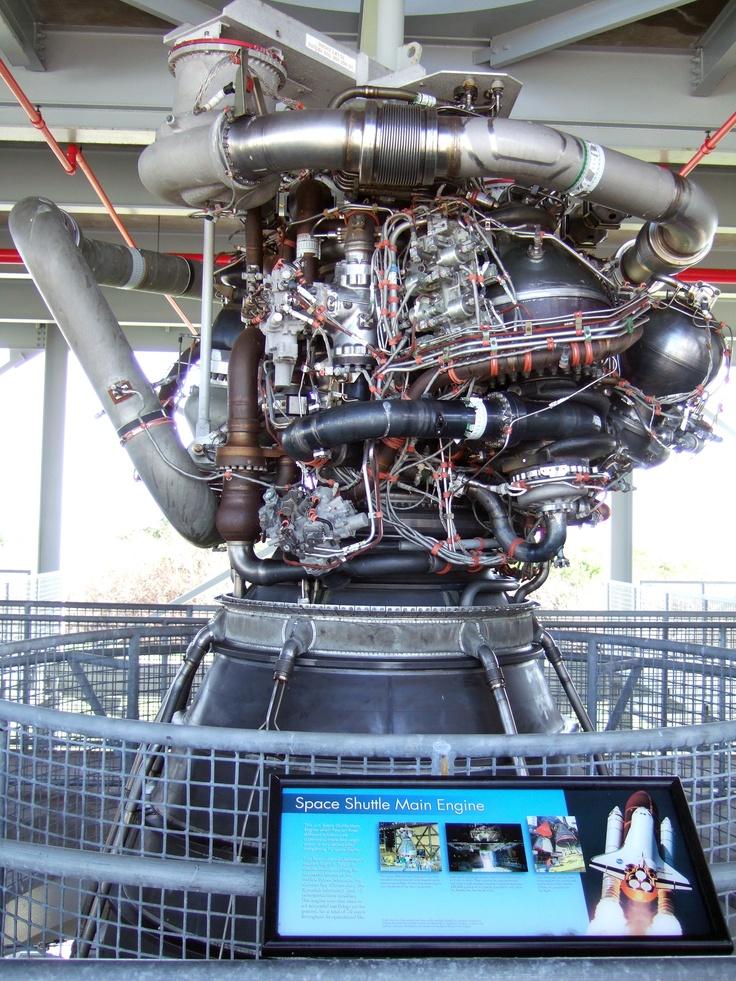 Space shuttle Main Engine | Kennedy Space Center | Pinterest