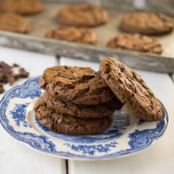 These Double Chocolate Chip Cookies are Grain Free, Nut Free, and Gluten Free. They are made with paleo-friendly tapioca flour, and coconut flour. They have a wonderful crispy outside and a chewy middle. #paleo #Primal #glutenfree #grainfree, #nutfree #GRAINFREecookies #paleocookies #Primalcookies #glutenfreecookies #coconutflour #tapioca