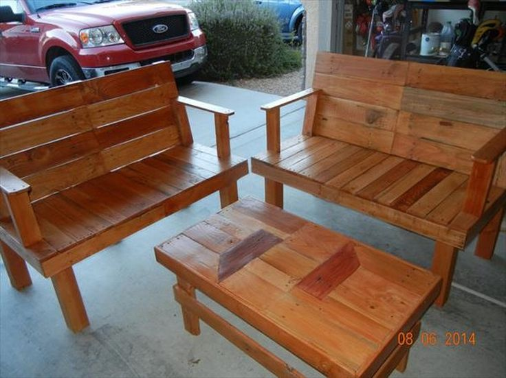 1000 ideas about wood patio furniture on pinterest outdoor furniture build a picnic table. Black Bedroom Furniture Sets. Home Design Ideas