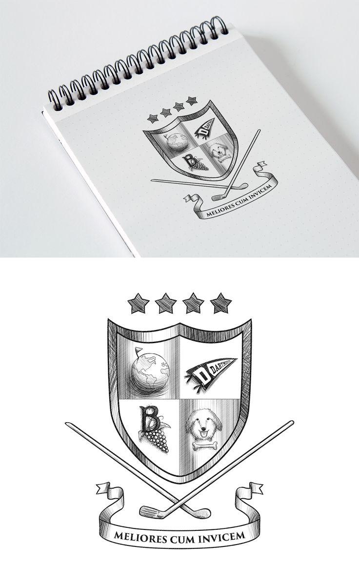 Fun Family Crest | 99designs