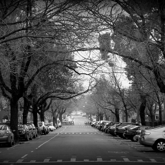 Melbourne winter.