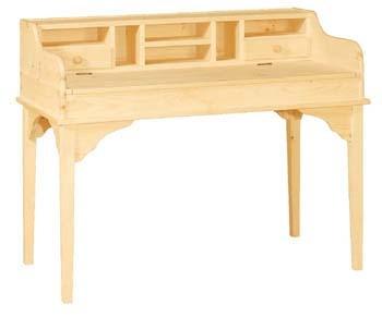 unfinished furniture writing desk