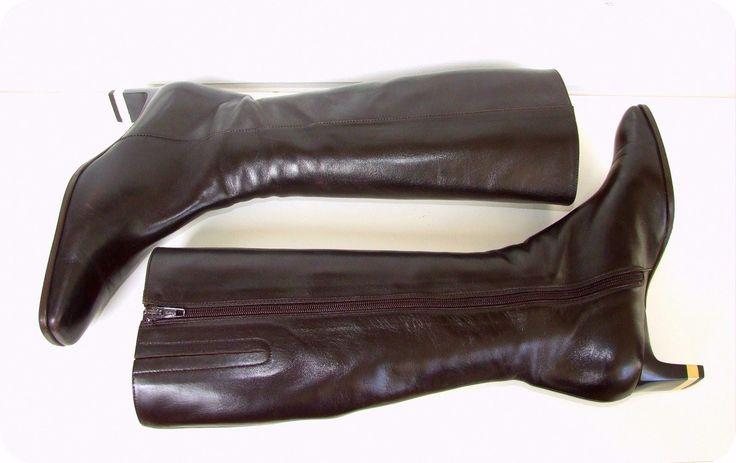VINTAGE BRUNELLA Stiefel Leder Gold EU 39 UK 6 US 7,5 Leather Boots Langschaft | Kleidung & Accessoires, Damenschuhe, Stiefel & Stiefeletten | eBay!
