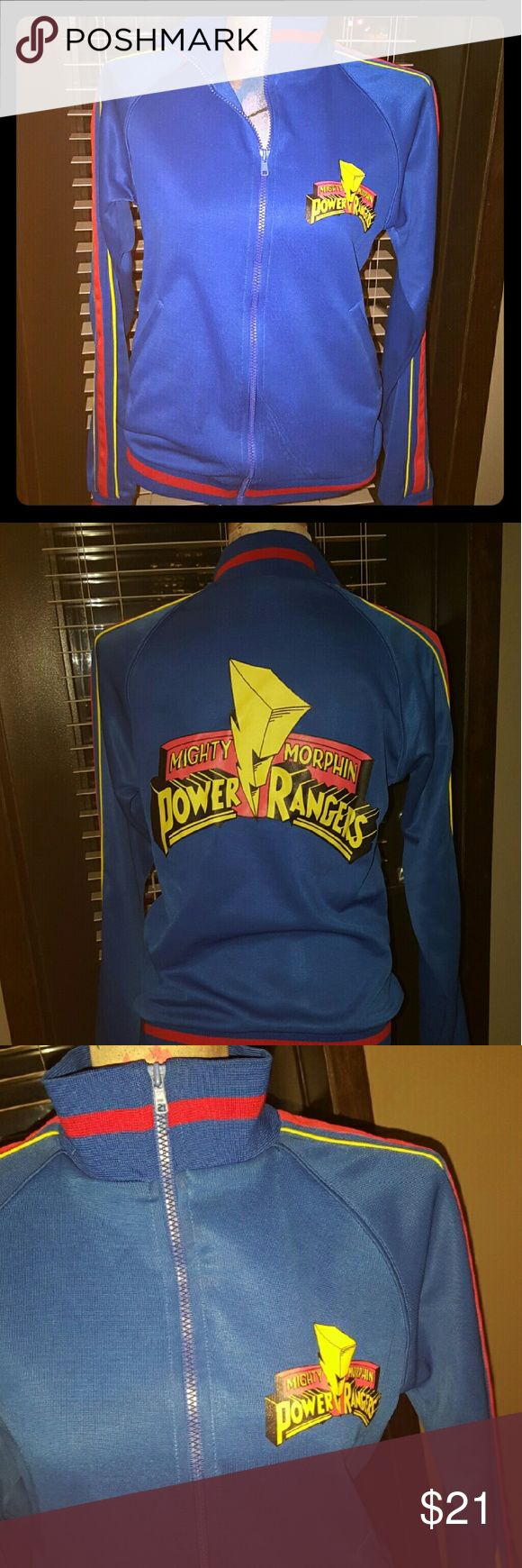 Power Rangers Track Jacket This is a old school Power Rangers Track Jacket Like …