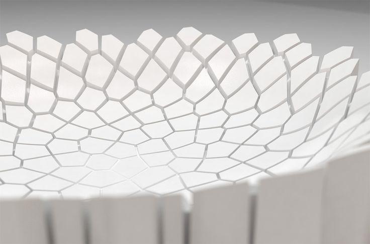 Rendered concept for a ceramic bowl (2/2), Jalte Windum (www.jaltewindum.com).