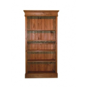 Portchester Pine Waxed Medium Bookcase  www.easyfurn.co.uk