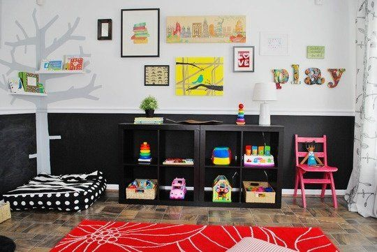 The Cheeriest 'Happy Modern' Kids' Rooms