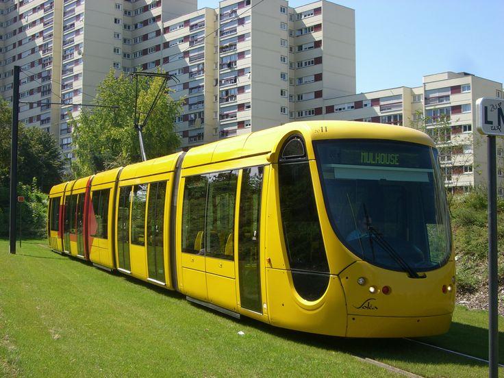 VOYAGER EN FRANCE | Mulhouse tramway, #France, #voyagerenfrance