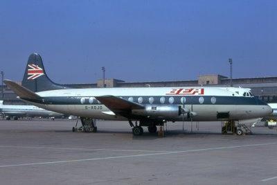 British European Airways Jet