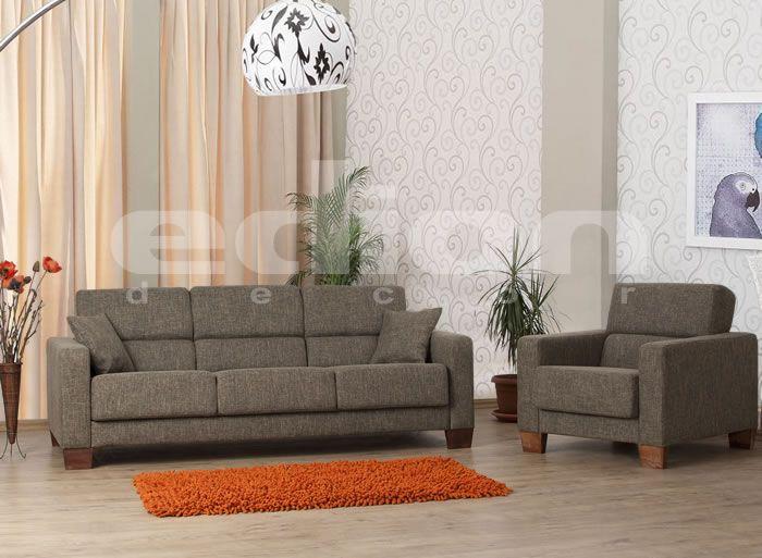 Canapele extensibile cu fotolii BST. Mecanism de pat clic-clac, cu lada depozitare, tapitate cu stofe de calitate, structura din lemn masiv .