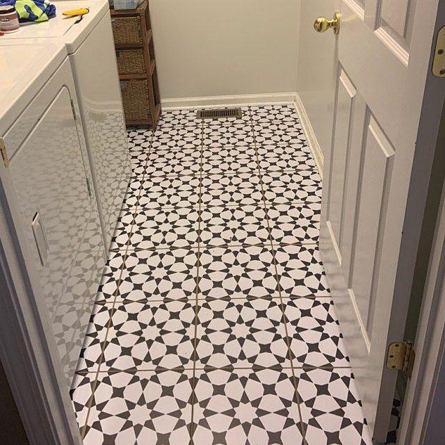 Tile Sticker Kitchen Bath Floor Wall Waterproof Removable Etsy In 2020 Stair Riser Vinyl Wall Waterproofing Tile Stickers Kitchen