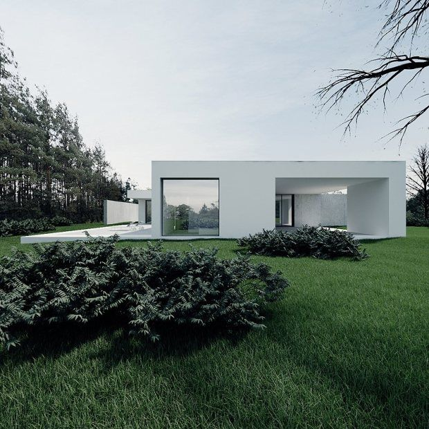 Ultra Minimal and Clean House - CZ House 1