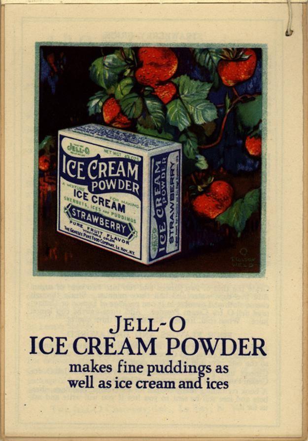 Jell-O: America's Most Famous Dessert. c. 1925