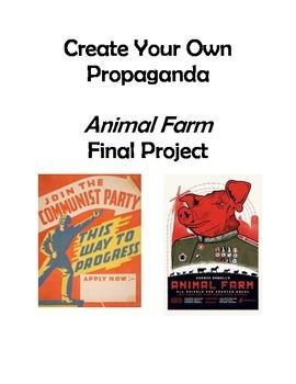 use of propaganda in animal farm essay Animal farm shows how the minority in power uses vague language,  propaganda, and misinformation to control the thoughts and beliefs of the  majority in the.