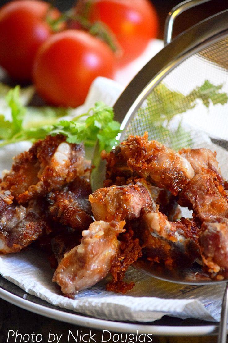 Pickled soft bone pork