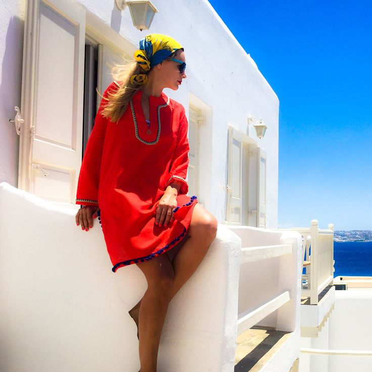 "Kaftan dress ""Andros"" $85€"