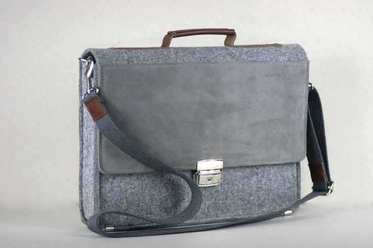 "FELT 13"" MACBOOK BRIEFCASE, 13,3"" felt leather case, genuine leather, felt laptop bag, customized, MacBook case by FUTERAL on Etsy https://www.etsy.com/listing/219722967/felt-13-macbook-briefcase-133-felt"