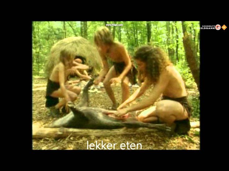 Zo leefden mensen in de prehistorie