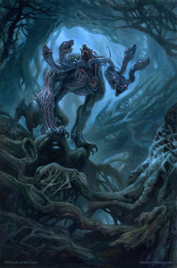 Howling Chorus - Eldritch Moon Art