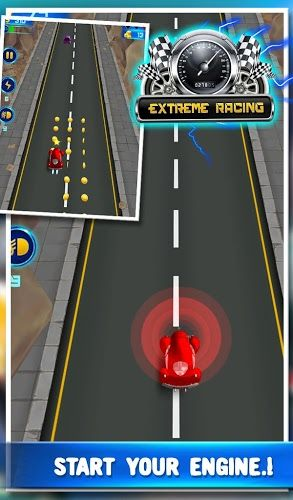 #3DRacing #CarRacing Ever wanted to try a #sports car simulator? Now you can drive, collect coins and grab invincible power to beat the challengers & win race.