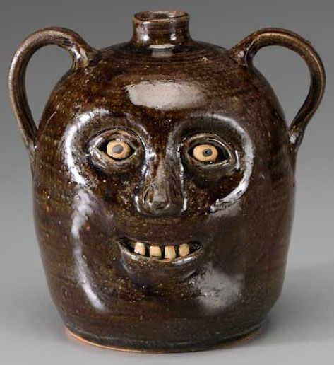 Reggie Meaders double face jug. I'm more a Lanier Meaders guy, but i do like a bit of Reggie.