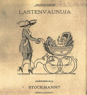 Finnish commercial from famous store Stockmann. Mainos vuodelta 1919…