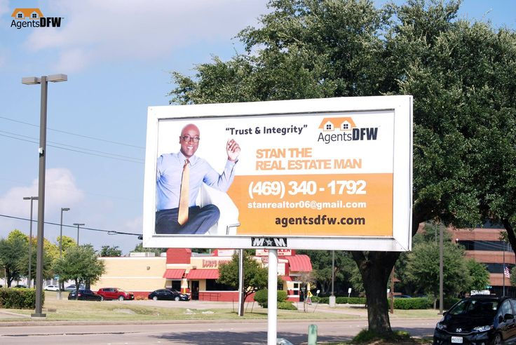 Billboard Design for Stanley Coleman, AgentsDFW Realtor® , designed by Moksha Media of Dallas - Daymond E. Lavine