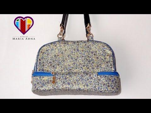 Bolsa térmica com dois compartimentos - Maria Adna Ateliê - Cursos e aulas de bolsas em tecidos - YouTube