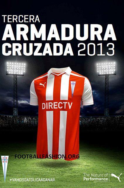 CD Universidad Católica 2013/14 PUMA Third Kit
