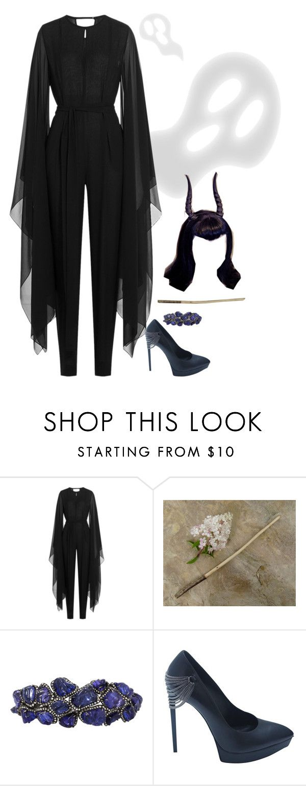 """superhero #45"" by tapping-raven ❤ liked on Polyvore featuring Emilio Pucci and Arunashi"