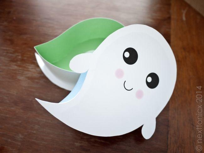 Kawaii Halloween Boxes- Ghosty