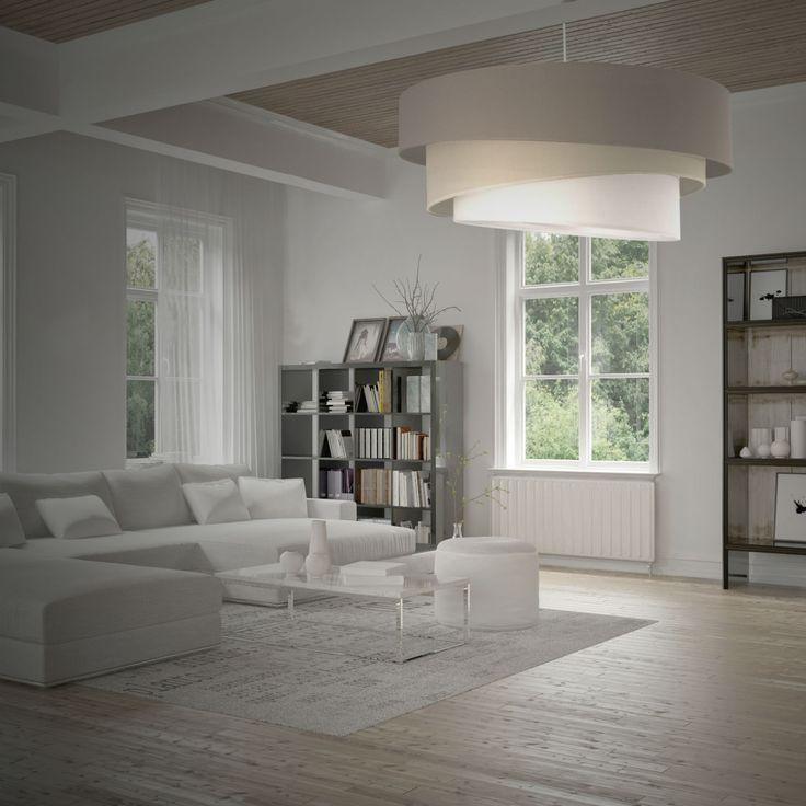 IONOS - Lampa wisząca Biały Śr.58cm Metropolight