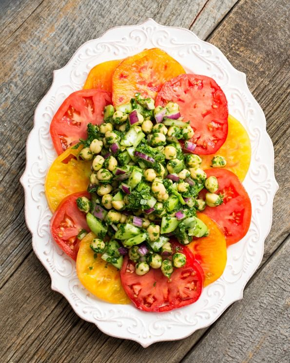 eatyourgreenschickpeamedley 8287   Eat Your Greens Chickpea Medley