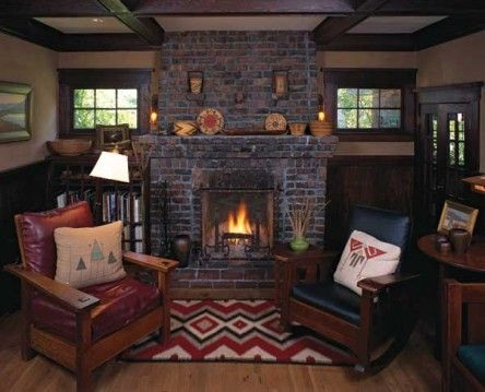 45 best images about bungalow ideas on pinterest entry for Bungalow fireplace ideas