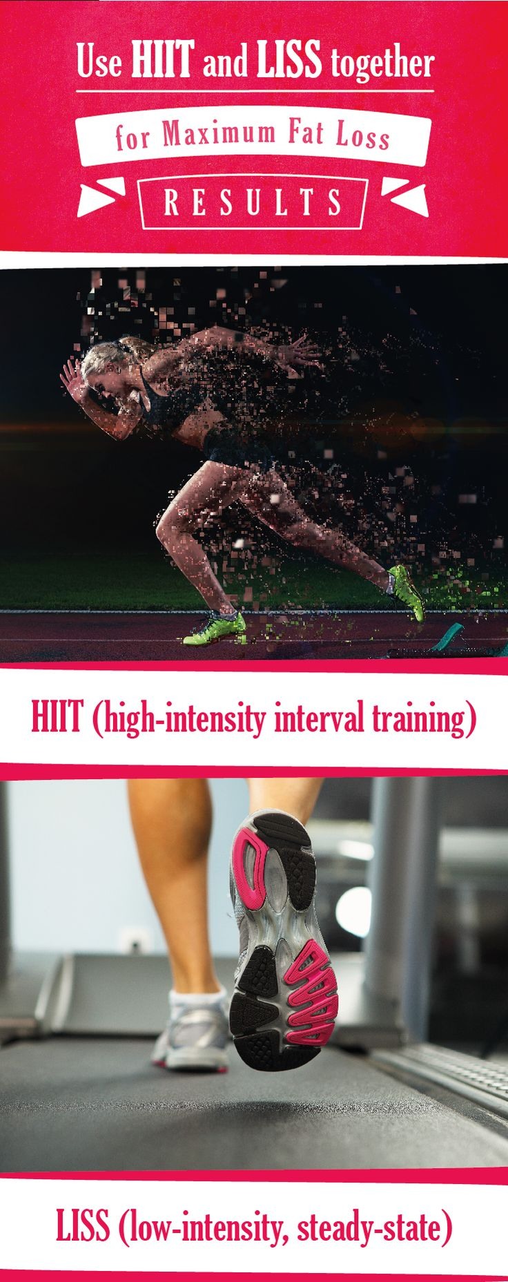 You spend a lot of time on the treadmill? Well, don't keep walking unless you take your steady-state cardio with a side of high-intensity interval training. #Cardio