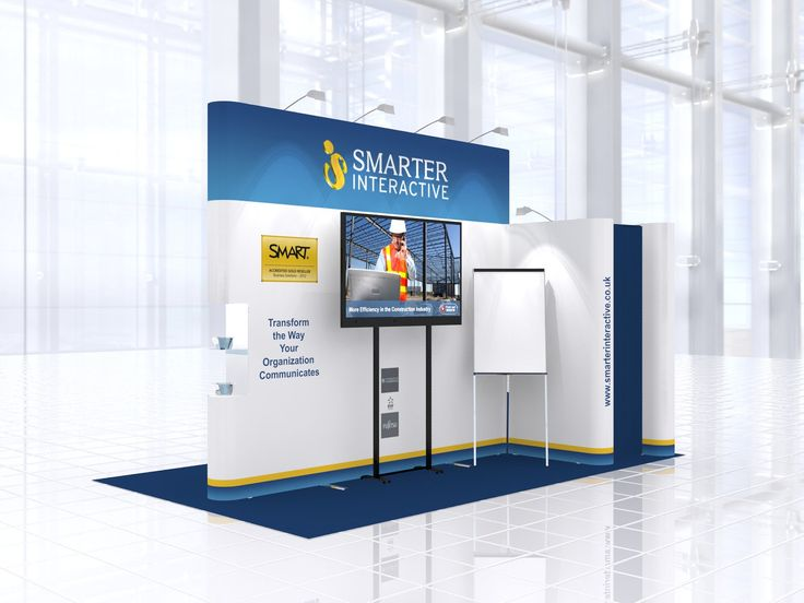 ... Exhibition stand design for Smarter Interactive | Exhibition stand