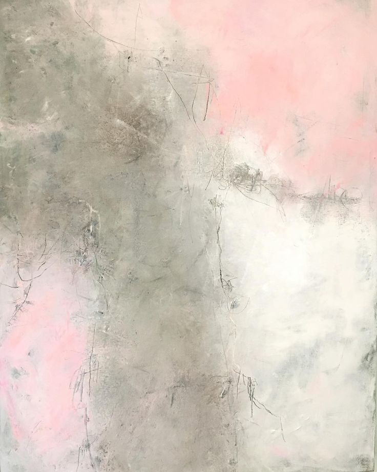 """Contemporary abstract art for modern home decor. """"Sometimes The Sky Is Pink"""" by Carole Leslie New one on the ease"""