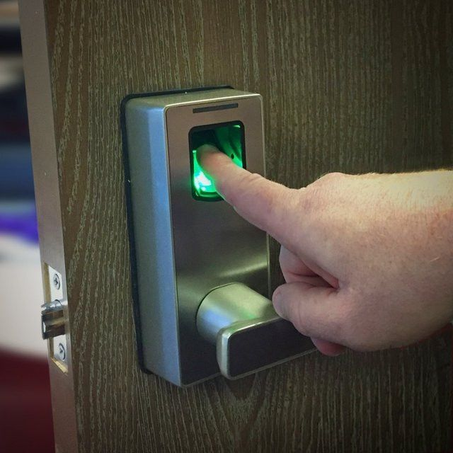 Biometric Fingerprint Lock by uGuardian.  Find out even more by checking out the picture