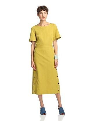 36% OFF Kate Spade Saturday Women's Side Snap Dress (Ochre)