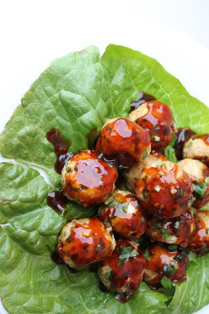 A fun twist on turkey meatballs - Thai basil turkey meatballs! These are tender and loaded with Asian flavor! Serve as an appetizer or main meal.