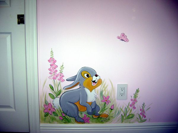 1000 images about children 39 s rooms on pinterest nursery for Mural flower