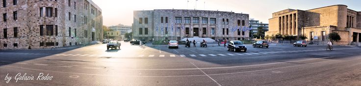 Rhodes island town center