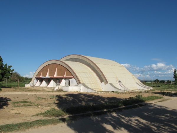 University building in Tulear, southwest Madagascar http://madacamp.com/Tulear