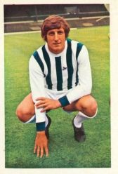 West Bromwich Albion F.C. 1971/1972 Soccer Stars -   Tony Brown (got his autograph, back in the day)