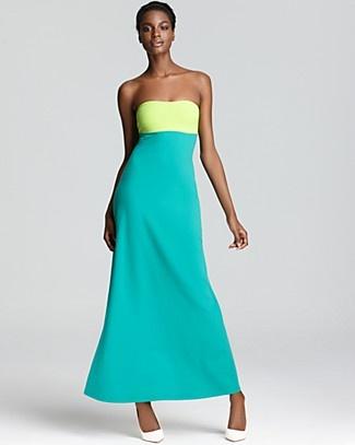 Susana Monaco Maxi Dress - Color Block Strapless   Bloomingdale'sMaxi Dresses, Colors Block Trends, Monaco Maxis, Summer Style, Block Strapless, Beautiful Dresses, Maxis Dresses, Dresses Master, Susanna Monaco