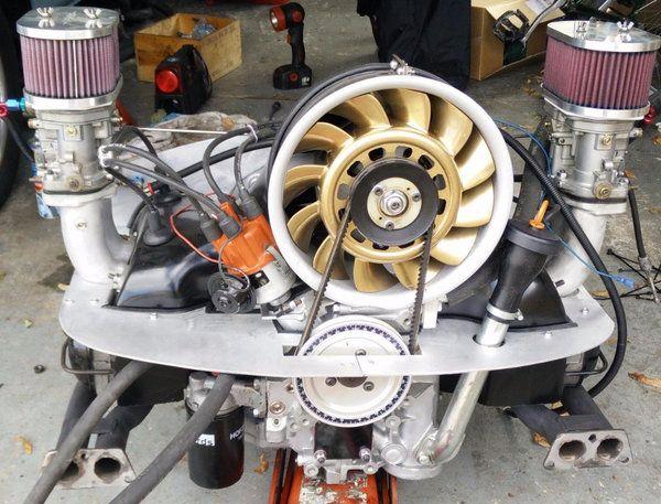 vw type 4 Porsche cooled flat 4 engine