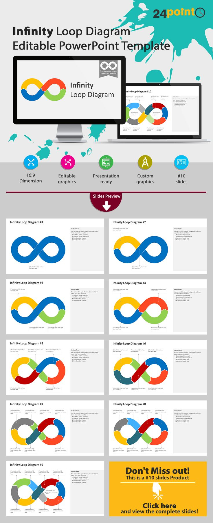 136 best business concepts models powerpoint templates slides the infinity loop is not only used in computing logic but can be used as a toneelgroepblik Choice Image
